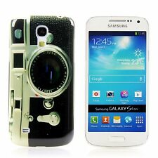 Samsung Galaxy S4 mini i9195 Hard Case Handy Hülle Schutz Etui Camera Retro