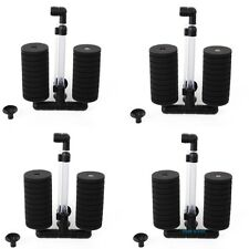 4 pcs Bio Sponge Filter Aquarium Fish Tank Betta Fry Shrimp Nano (L) XY-2822