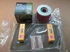 Tune up Kit 2 NGK CR8E Spark Plugs + Air + Oil Filter Kawasaki Ninja 250 EX250R