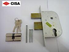 CISA GATE LOCK 42512-50 con Profilo Euro Cilindro con 3 chiavi in finitura cromata