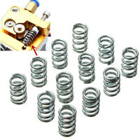 12Pcs RepRap Springs 3D Printer Spring Prusa Mendel Bed Level Extruder Idler New