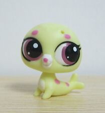 Hasbro Littlest Pet Shop Collection LPS Mini Baby Figure Toy Yellow Sea Lion Dog