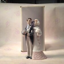 Lladro Bride & Groom Figurine #4808 Wedding Cake Topper NEW/BOX~FROM FACTORY OUT