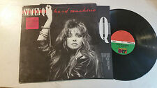 STACEY Q hard machine LP Promo 81802-1 Atlantic Stereo Vinyl 1988 Record ssq !!