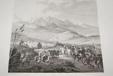 PRISE DE CHAMBERY 1792 REVOLUTION  GRAVURE 1838 VERSAILLES R1280 IN FOLIO