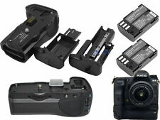 Vertical Battery Grip For Pentax K3 Camera +D-BG5 Battery case+2x D-Li90 Battery