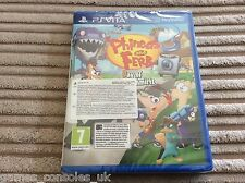 SONY PS VITA PHINEAS AND FERB DAY OF DOOFENSHMIRTZ BRAND NEW GAME! PSV