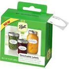 NEW CASE OF 360 BALL DISSOLVABLE CANNING FOOD JAR LABEL