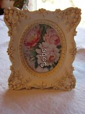 "Gorgeous 2.6"" x 3.4"" Photo Frame Victorian Reproduction Picture Small Detail"
