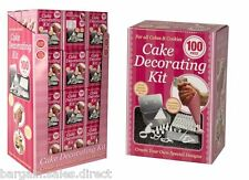 CAKE & COOKIES 100 PIECE CREATE YOUR OWN SPECIAL DESIGN DECORATION KIT