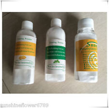 3Bottles Dental Prophy Mate Air jet Polisher Prophy Cleaning Powder Mint/Lemon