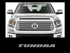 "Tundra Front Windshield Banner Decal Sticker 36"" Toyota Truck Off Road Sport 4x4"