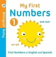 Bilingual Baby English-Spanish First Numbers, Autumn Publishing, Very Good condi