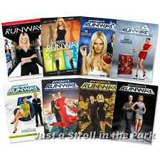 Project Runway: TV Series Complete Seasons 1 2 3 4 5 6 7 8 Box / DVD Set(s) NEW!
