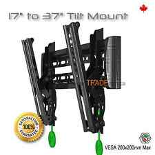 Tilt TV Monitor LCD LED Wall Mount Bracket 17 19 22 23 26 27 30 32 36 37 40 42""