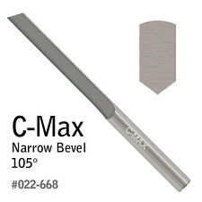 GRS® Tools 022-668 C-Max Carbide Graver Narrow Bevel 105