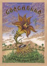 MINT RHCP RATM 2007 EMEK Coachella KRAFT Poster 29/100