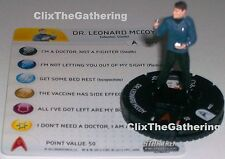 DR. LEONARD MCCOY #002 Star Trek: Tactics Away Team HeroClix