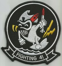 US NAVY VF-41 AVIATION FIGHTER SQUADRON MILITARY PATCH BLACK ACES FIGHTING 41