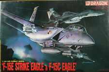 1:144 Dragon #4022  F-15E Strike Eagle & F-15C Eagle