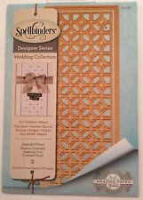Spellbinders Designer Series Wedding Collection Quatrafoil Panel S5-268