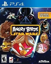 Angry Birds Star Wars (Sony PlayStation 4, 2013) NEW Sealed * Fast Free Shipping