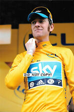 9x6 Photograph, Sir Bradley Wiggins , Portrait  Tour de France Winner 2012