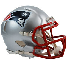 New England Patriots Riddell NFL Mini Speed Replica Football Helmet