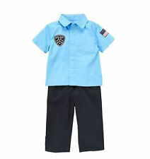 Gymboree TINY POLICE OFFICER CADET Costume Toddler Boys 18 - 24 mos. NEW!