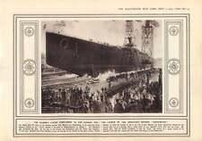 1915 Hindenburg Cruiser Vistula Warsaw Bridges
