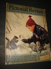 Pictorial Review Magazine January 1939