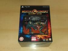 Mortal Kombat PS3 Playstation 3 Limited Kollector's Edition Collectors