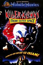 Killer Klowns From Outer Space Movie Poster #01 24x36