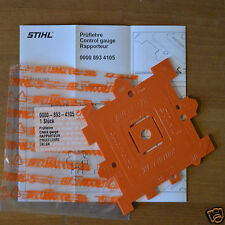 Genuine Stihl MS200T MS201T MS201TC M-Tronic Chainsaw Chain Template Pitch Gauge