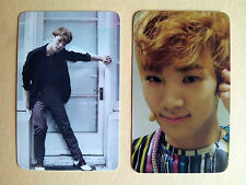 "SHINEE ""The First"" & ""Romeo"" Photo Card from Fan Site, unofficial /Thin - KEY"