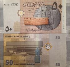 SYRIA 2009 50 POUNDS UNC BANKNOTE P-112 ASSAD REGIME BUY FROM A USA SELLER !!!!!