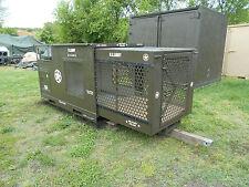 DOG KENNEL MILITARY SURPLUS MP POLICE HOUSE BOX CRATE AC GARRETT 2003 U.S