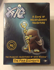 Xig The Four Elements (GT 2005) A Puzzle Building Game of Never-Ending Adventure
