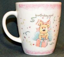 NEWTON'S LAW/GUND - BIRTHDAY GIRL mug - EUC