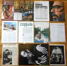 FRANCIS FORD COPPOLA 1970s/00s spanish articles clippings cinema photos