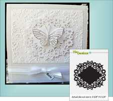 Flight of Fancy die circle doily Die-Versions DVW-4x4-119