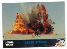 2016 Topps Star Wars Force Awakens Series 2 Blue #31 Under Attack