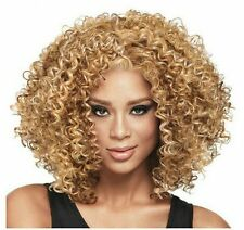 Stock Curly Intense African American Wigs Afro Kanekalon Wigs for Black Women