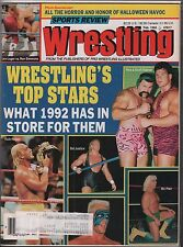 Pro Wrestling Illustrated February 1992 Rick & Scott Steiner w/ML VG 020416DBE