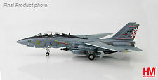 "HOBBYMASTER 1:72 HA5201 F-14A TOMCAT U.S. NAVY VF-211 ""FIGHTING CHECKMATES"" MIB"