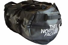 THE NORTH FACE BASE CAMP DUFFEL BAG / HOLDALL / RUCKSACK (LARGE) - BLACK - EXC