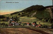 WALTERSDORF um 1910 Teilpartie Häuser Villen Verlag Wagner AK alte Postkarte