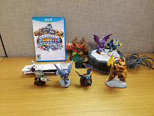 Skylanders Giants Starter Set Nintendo WiiU, complete, with 4 extra figures!