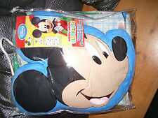 DISNEY STORE 100% Cotton Disney Duvet Bed Set WITH CUSHION MICKEY MOUSE RRP£40