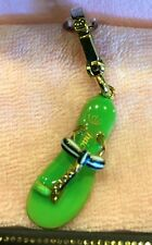 2007 NEW JUICY COUTURE GREEN FLIP FLOP CHARM YJRU1156
